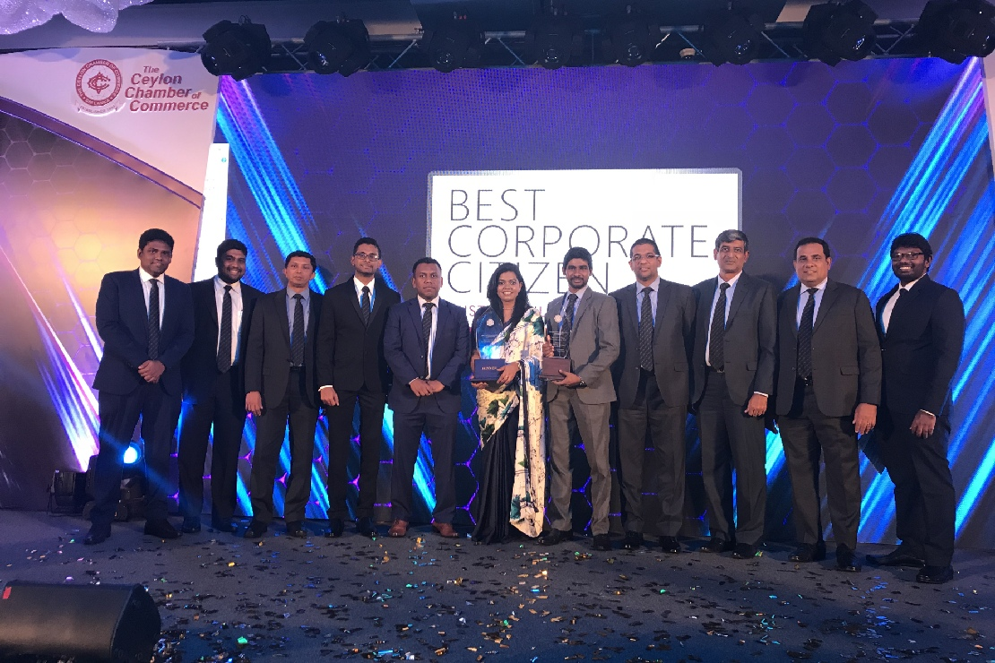 CDB Repeats Feat as One of the Ten Best Corporate Citizens in Sri Lanka