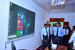 school is given a brand new, fully equipped IT laboratory with brand new computers